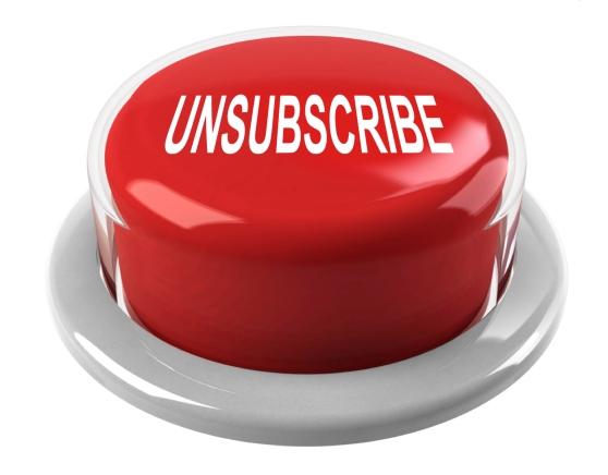 Рассылая электронные письма, предлагайте отписаться