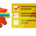 Чеклист по внутренней оптимизации сайта