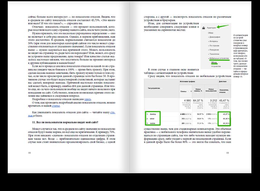Пример нашей белой книги о веб-аналитике для бизнесменов и владельцев сайтов