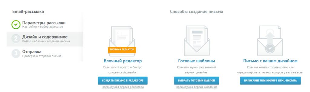 Unisender 3 выбор редактора